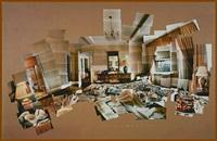 sunday morning, mayflower hotel, new york, nov. 26, 1982 by david hockney