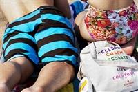 plage de coney island, brooklyn by william klein