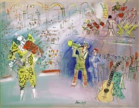 clowns musiciens by jean dufy