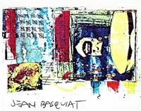 postcard by jean-michel basquiat
