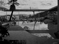 loewy house, palm springs by julius shulman