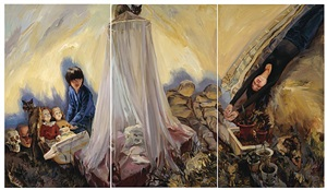 bed net by yu hong