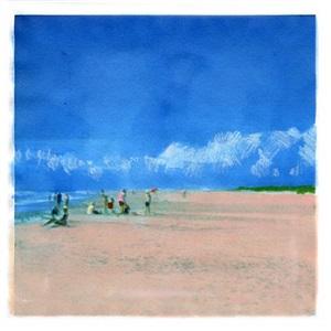 cloud beach (blue) by isca greenfield-sanders