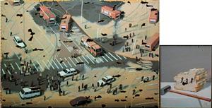 mural by zhang hui