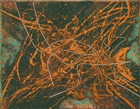 la raie (black/moorhead #242) by stanley william hayter