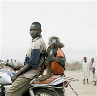 motorbike rider with amiloo, nigeria by pieter hugo