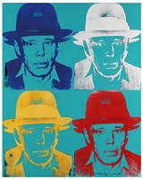 joseph beuys (244) by andy warhol