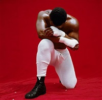 mike tyson by michel comte