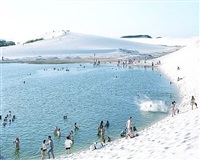 #4461 lençois laguna do peixe splash by massimo vitali