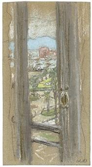 la fenêtre à cannes by edouard vuillard