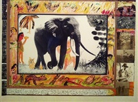 ahmed, elephant by peter beard