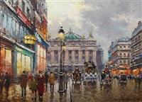 avenue de l'opera by antoine blanchard