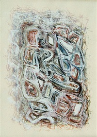 untitled i by mark tobey