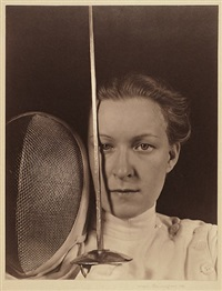 portrait of helena mayer, fencer by imogen cunningham