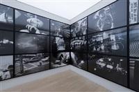 installation view, simon lee gallery, hong kong by daido moriyama