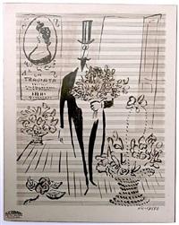 la traviata by saul steinberg