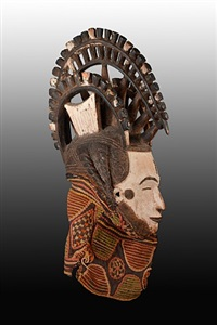 igbo maiden spirit mask by unknown