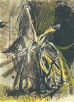 city of london: twisted girders by graham sutherland