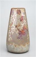 golden coral vase by lucien lévy-dhurmer