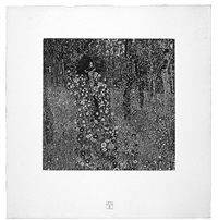 <u>cross on a farm</u> from das werk by gustav klimt