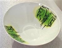 porcellana di albisola #6 by wifredo lam