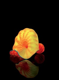 marigold persian studio edition #124.cw1p.14 by dale chihuly