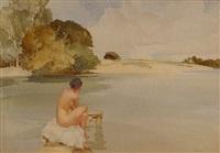 belinda's lagoon by william russell flint