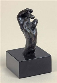 hand no. 20, small model by auguste rodin
