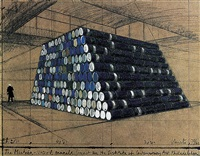 the mastaba – 1240 oil barrels by christo and jeanne-claude