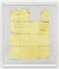 untitled (yellow grid) by lyle ashton harris