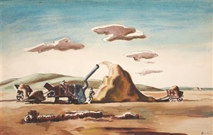 threshing rice by thomas hart benton