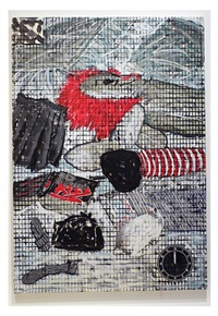 24 hours: elegy, 12 a.m. small raggedy ann by jennifer bartlett