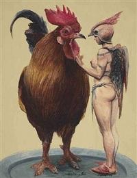 gallo y tú (sold) by roberto fabelo