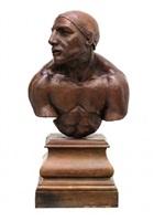 busto de futbolista by jorge marín
