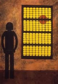hombre en la ventana (man at the window) by rufino tamayo