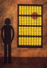 hombre en la ventana (man at the window) by rufino tamayo