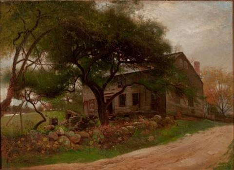 old farm house in the catskills by arthur parton