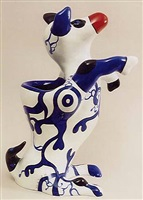 <!--01-->dog vase by niki de saint phalle