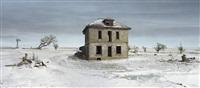murray house, sears roebuck rockfaced wizard no. 52, sheridan county, nebraska, from the series dirt meridian by andrew moore