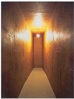 ailleurs - la chambre des certitudes by wolfgang laib