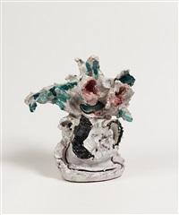 vaso con fiore by lucio fontana