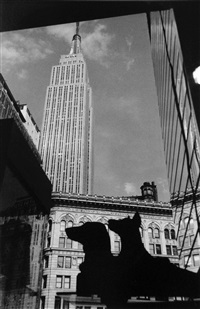 empire state building by james iska