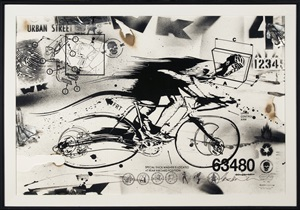untitled (bike messenger) by wk interact