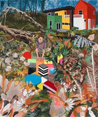 memphis living (he felt the garden needed the same treatment) by hernan bas