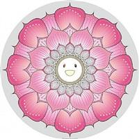 lotus flower (pink) by takashi murakami