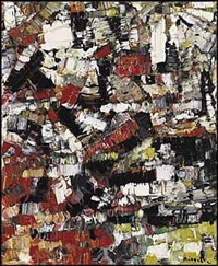 lot #22: neige d'automne by jean paul riopelle