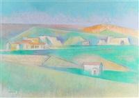ranchos looking north by andrew michael dasburg