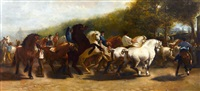 the horse fair by rosa bonheur
