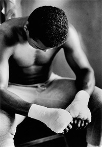 muhammad ali in training, miami, florida by gordon parks