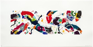 untitled by sam francis